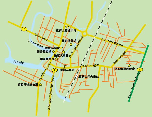 AlorSetar_map