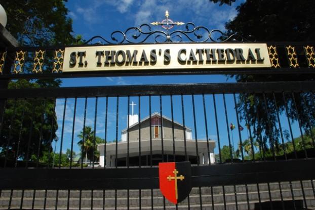 建于1851年的圣多玛大教堂