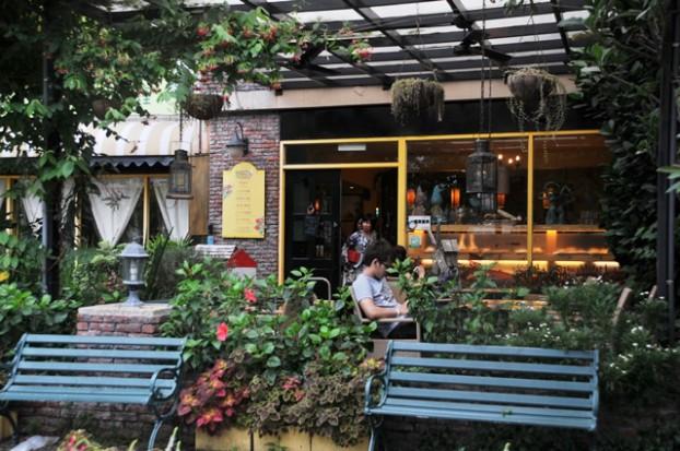美术园道餐馆之一