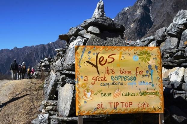 18山里不乏咖啡小馆,提醒你是停下小息的时候。