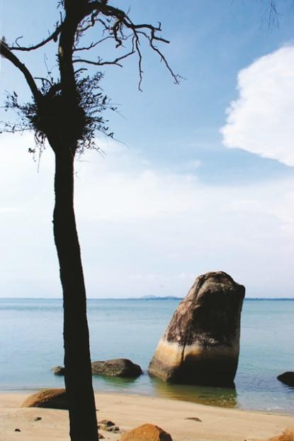 帆船石(Batu Layaran)